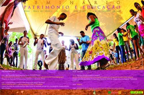 CARTAZ_Seminario_Patrimonio_e_Educacao